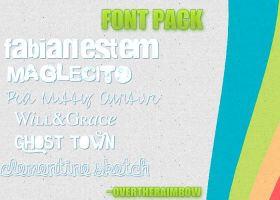 Font's Pack by overtheraimbow