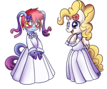 Wedding Dress - Cteno and Surprise by Bukoya-Star