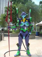 EVA-01 at Central Park Mall by V-male