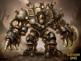 Clockwork Wars - Power Armor by 47ness