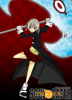 Request : Maka Fan Art by xcalibur95