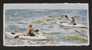 Kayaks At The Cove by ShelbyGT-500KR