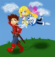 Lloyd and Colette Again by semehammer