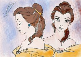 Belle -Beauty and the Beast /1991/ by Valion4
