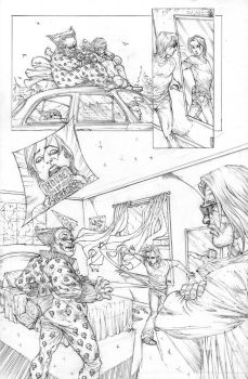 FUNHOUSE of HORRORS Page 10 Issue 4 by RudyVasquez