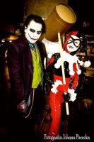 The Joker and Harley Quinn (2) by LeanAndJess