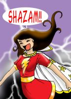 Magical Mary Marvel by Koku-chan