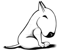 English Bull Terrier Original by sookiesooker