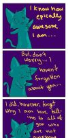 The Sarcastic Cat by Joava