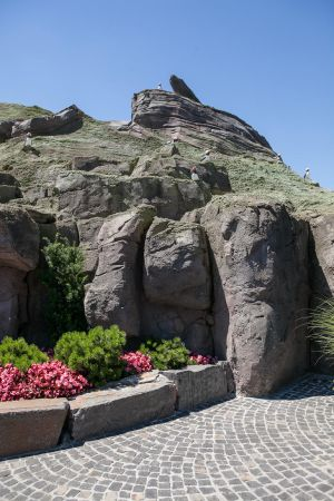 Europapark 029 rocks and boulders 03 by ISOStock