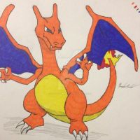 Charizard Drawing by FantasyRebirth96
