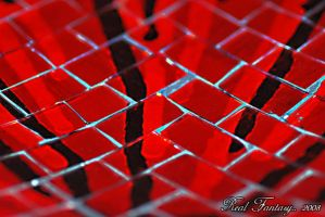 Red abstraction by Thameralhassan