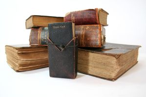 Stock - Collection of Bibles by GothicBohemianStock