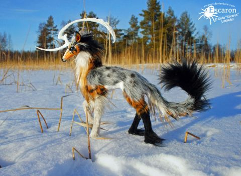 Gemma in Wild - Art Doll by Escaron