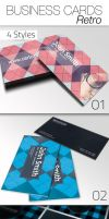 Business Card - Retro by CarlosViloria
