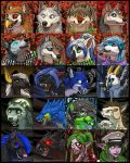 Fall and Halloween Icons 2 by Shadow-Wolf