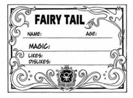 fairy tail  card by BLUE8SKY