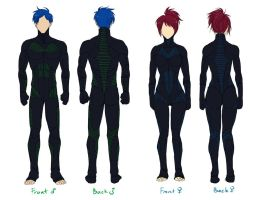 CC: Summoner Battle UnderSuit Ref by cherubchan