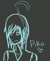 piko sketch by werewolftuesday