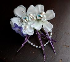 Jasmine insp. hair clip by TheRealLittleMermaid