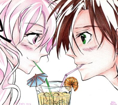 Teito x Ouka - Summer Time by SixthIllusion