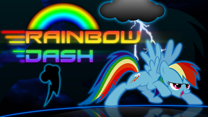 Rainbow Dash Wallpaper by Cubengine