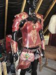 Wolf forest women leather armor by akinra-workshop