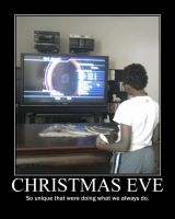 Christmas Eve -demotivation- by Dragunov-EX