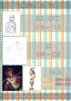 Commission Price List 2015-2016 by TheVioletPanda