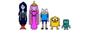 Adventure Time: Sprite Sheet by Silverhammer37