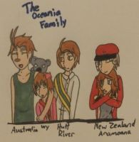 Hetalia- The Oceania Family by MapleBeer-Shipper