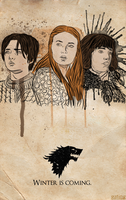 Three of the Starks by gating