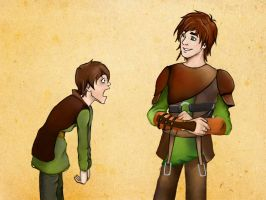 Puberty strikes on Hiccup Horrendous Haddock III by ThisOneOfMarvels