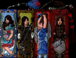 +Alice Madness Returns Bookmarks (for sale)+ by MaliciousMisery