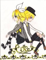 Len and Rin Skeleton Life by sukina-chan