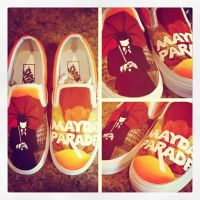 Mayday Parade Shoes (2.0) by checkTHISjuliet