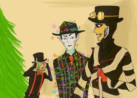 Steam Powered Christmas by Kaeips