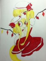 -comission- flandre scarlet by NamimoriGamer