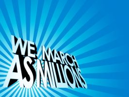 We March As Millions Concept 2 by Temidien