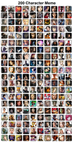 200 characters meme by White---Devil