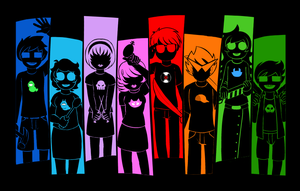 Homestuck Shirt Design - Kids I Once Knew by FueledByAnimation