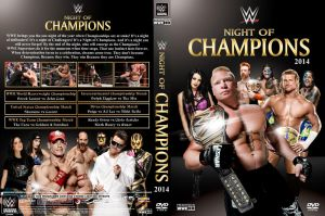 WWE Night of Champions 2014 DVD Cover V1 by Chirantha