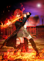 Shakugan no shana cosplay by KICKAcosplay