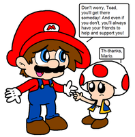 Toads are people too 1 by Bomberdrawer