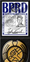 BPRD Badge and ID by Tensen01