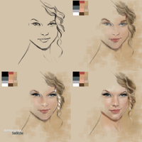 Taylor Swift #Process by dankershaw