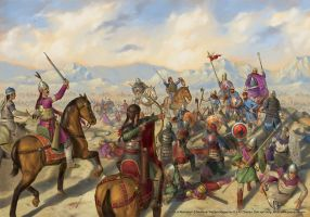 Battle of Manzikert by jasonjuta
