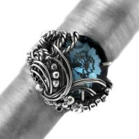 MONTANA BLUE SECRET - ring II by AnnaMroczek