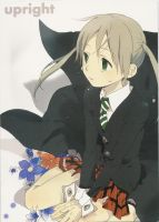 Upright Soul-Maka Doujinshi by MoonlitRoseBlood