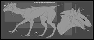 Kuskua Species Referance. by KeptinKeem